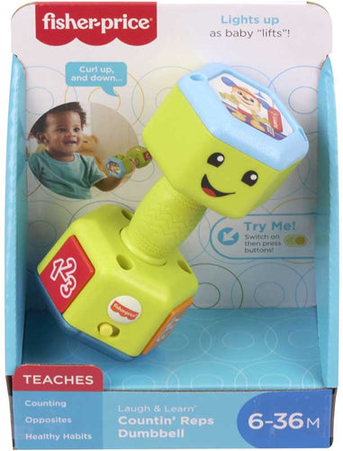 Fisher Price Laugh and Learn Dumbbell
