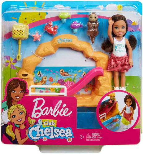 Barbie Club Chelsea Doll and Aquarium Playset