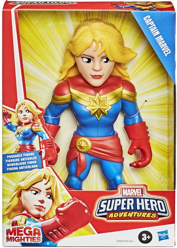 Sha Mega Mighties Captain Marvel