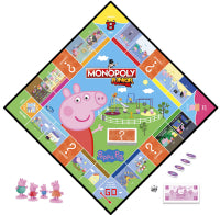 Load image into Gallery viewer, Hasbro Monopoly Junior Peppa Pig Game