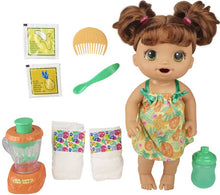 Load image into Gallery viewer, Baby Alive Magical Mixer Baby Brown Hair