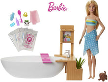 Load image into Gallery viewer, Barbie Fizzy Bath Doll and Play Set
