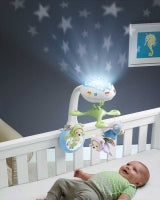 Load image into Gallery viewer, Fisher Price Butterfly Dreams 3-in-1 Projection Mobile