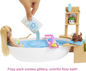 Barbie Fizzy Bath Doll and Play Set