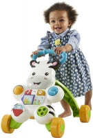 Load image into Gallery viewer, Fisher Price Learn With Me Zebra Walker