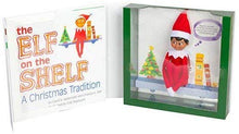 Load image into Gallery viewer, Elf on the Shelf: A Christmas Tradition - Dark Skinned Boy Scout Elf Box Set