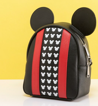 Load image into Gallery viewer, Loungefly Disney Mickey Mouse Applique Detail Backpack