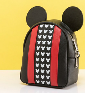 Loungefly Disney Mickey Mouse Applique Detail Backpack