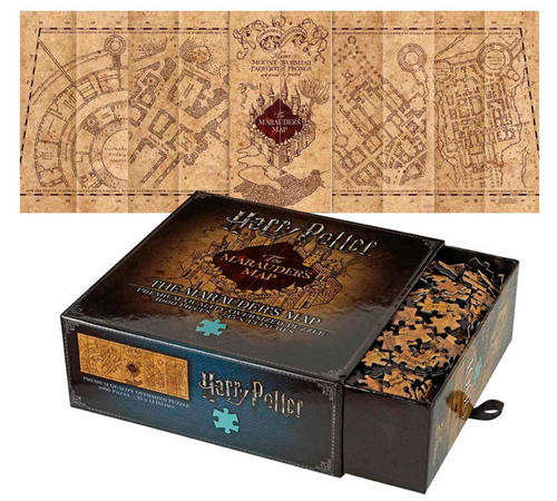 Harry Potter The Marauder Map Cover puzzle 1000pcs