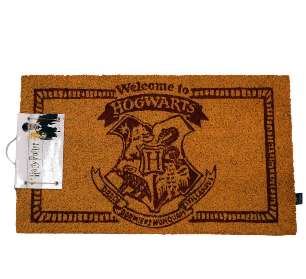 Harry Potter Welcome to Hogwarts doormat