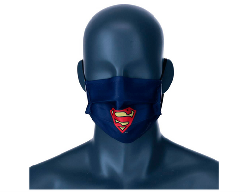 DC Comics Superman reusable tween face mask