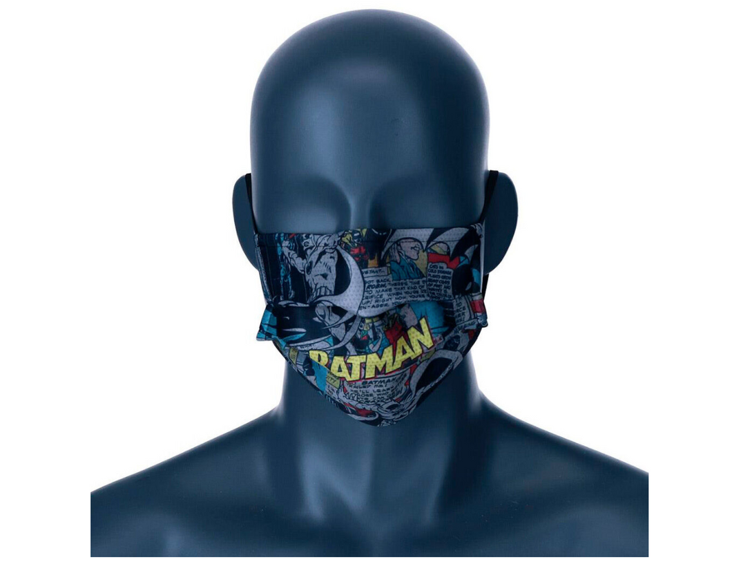 DC Comics Batman Comic reusable adult face mask