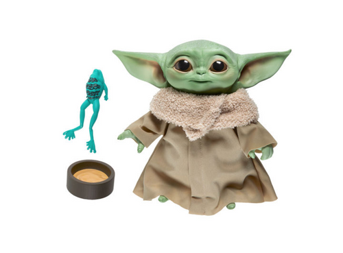 Star Wars Baby Yoda The Child soft toy with sounds 19cm