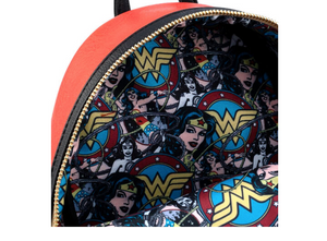Loungefly DC Comics Wonder Woman cosplay backpack 26cm