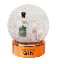 Load image into Gallery viewer, Gin Snow Globe