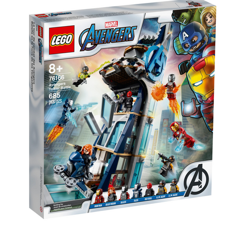 Lego Marvel Avengers 76166I Avengers Tower Battle Playset