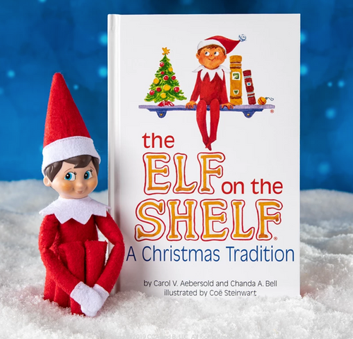 Elf on the Shelf: A Christmas Tradition - Light Skinned Blue Eyed Boy Scout Elf Box Set