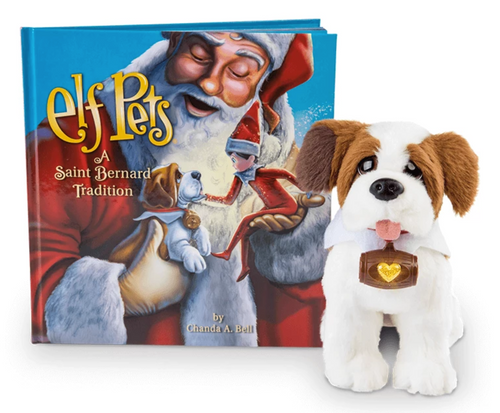 Elf on the Shelf Elf Pets®: A Saint Bernard Tradition