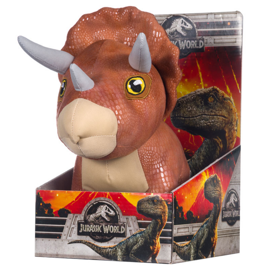 Jurassic World Triceratops Dinosaur Soft toy