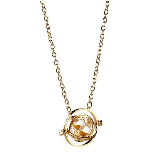 Harry Potter Time Turner Rotary Necklace