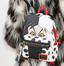 Load image into Gallery viewer, Loungefly Disney 101 Dalmatians Cruella de Vil Mini Backpack
