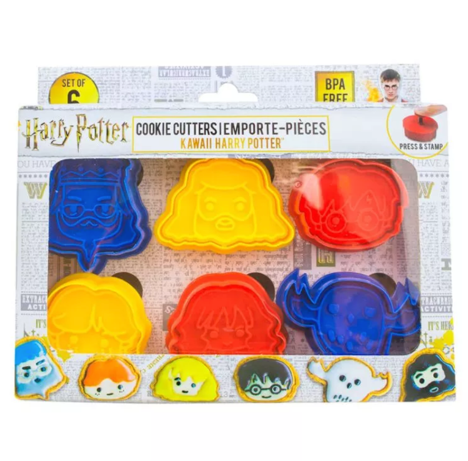 Harry Potter Pack of 6 Cookie Cutters
