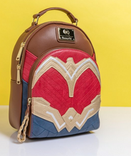 Load image into Gallery viewer, Loungefly DC Comics Wonder Woman Cosplay Mini Backpack