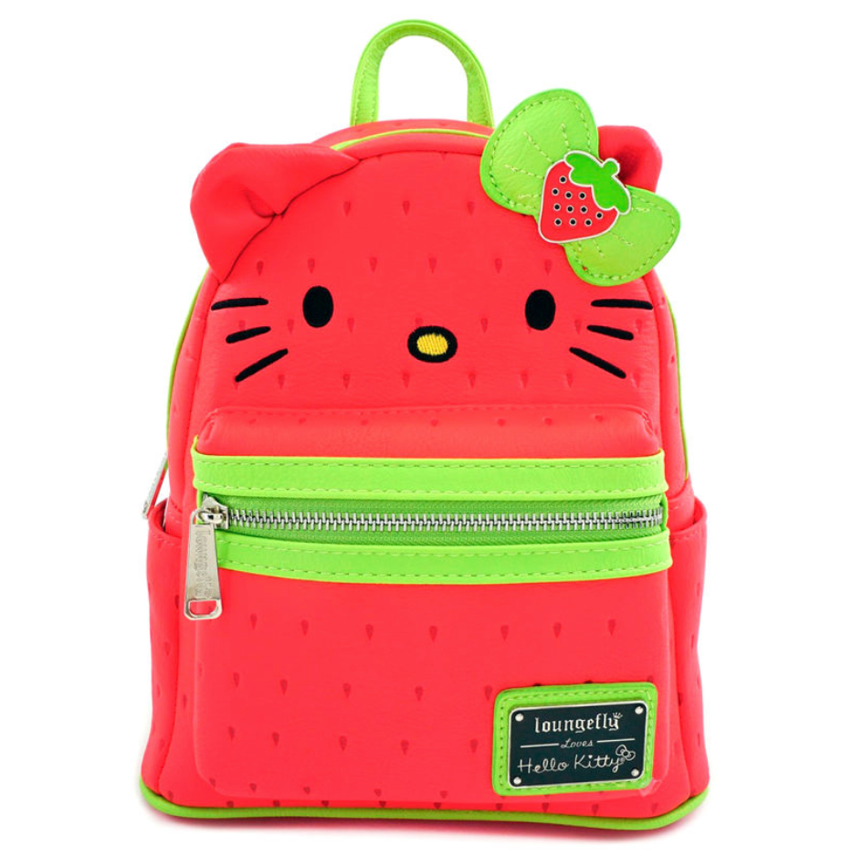 Loungefly Hello Kitty Strawberry Mini Backpack