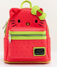 Load image into Gallery viewer, Loungefly Hello Kitty Strawberry Mini Backpack