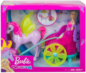 Barbie Dreamtopia Princess | Pegasus and Chariot