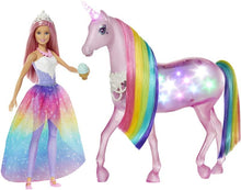 Load image into Gallery viewer, Barbie Magic Touch Unicorn and Doll