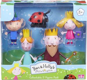 Ben And Holly Collectables 5-figure Pack