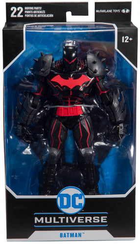 Dc Armored 7 Inch Batman Hellbat W1
