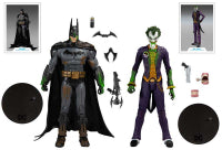 DC Comics | Arkham Batman Vs. Arkham Joker
