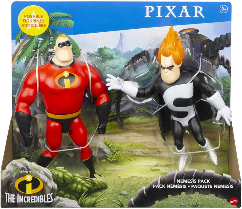 DISNEY PIXAR INCREDIBLES NEMESIS PACK