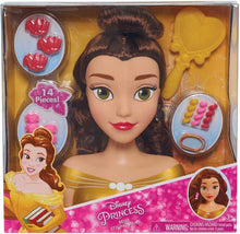 Load image into Gallery viewer, Disney Princess Beauty & the Beast Belle Styling Head