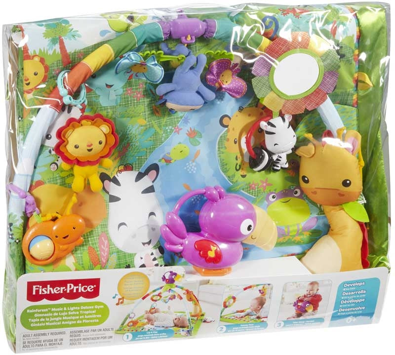 Fisher Price Rainforest Music and Lights Deluxe Gym