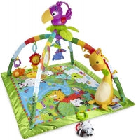 Load image into Gallery viewer, Fisher Price Rainforest Music and Lights Deluxe Gym