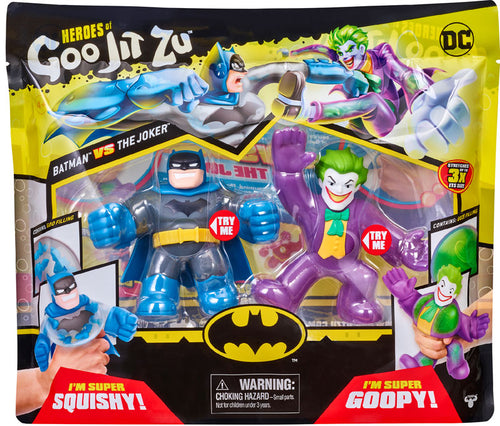 HEROES OF GOO JIT ZU DC VERSUS PACK - BATMAN VS JOKER