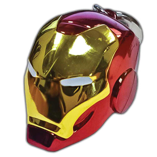 Marvel Iron Man Helmet metal keychain