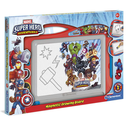 Marvel Super Heroes Magnetic Drawing Board