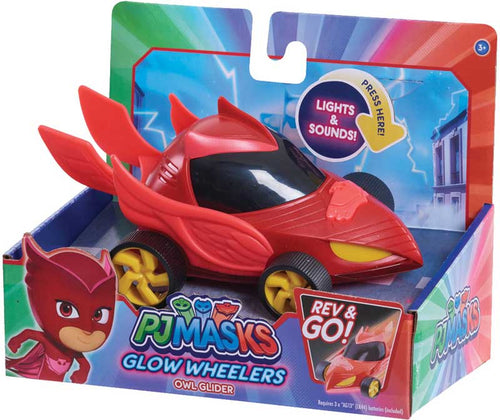 PJ MASKS GLOW WHEELERS - OWLETTE