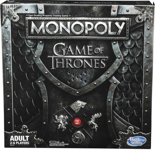 Hasbro Game of Thrones Monopoly Game