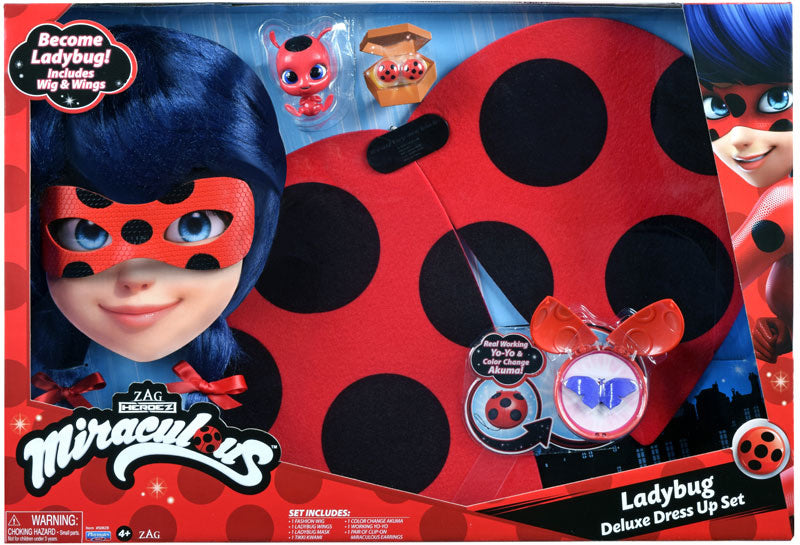 MIRACULOUS LADYBUG DELUXE ROLE PLAY SET