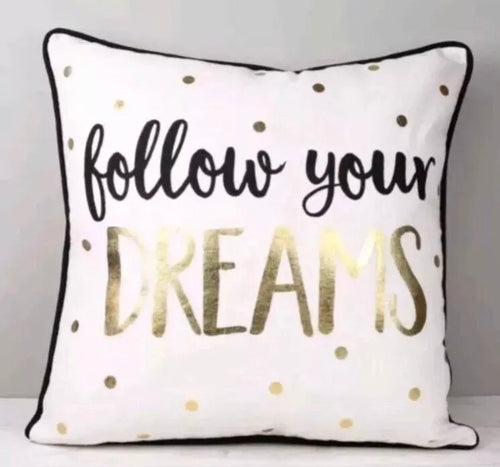 Sass and Belle Follow Your Dreams Cushion.