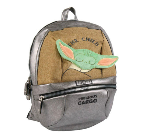 Star Wars The Mandalorian Baby Yoda The Child backpack 35cm