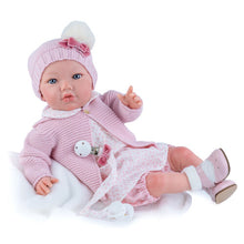 Load image into Gallery viewer, Newborn Pink doll 45cm