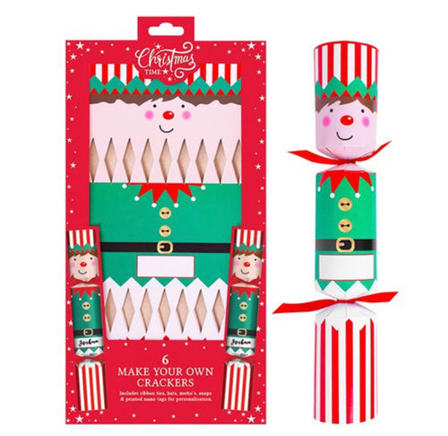Make Your Own Elf Crackers - six