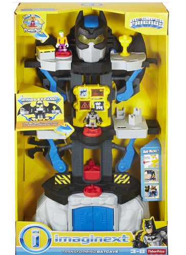 Imaginext DC Super Hero Friends Transforming Batcave