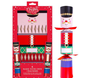 Make Your Own Nutcrackers Crackers - six